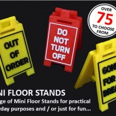 Mini Floor Stands