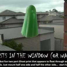 Ghosts in the Window (or Wall)
