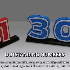 Outstanding Numbers