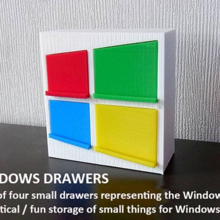 Windows Drawers