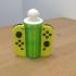 Nintendo Switch Joy-Con Holder with Storage Room print image