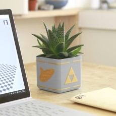 Zelda Planter - Single / Dual Extrusion Minimal Planter