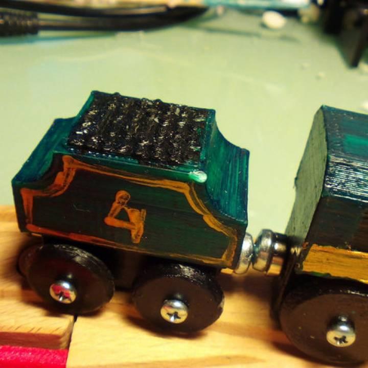 Steam Locomotive Tender