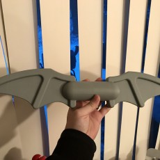 Picture of print of Full sized Lego batarang