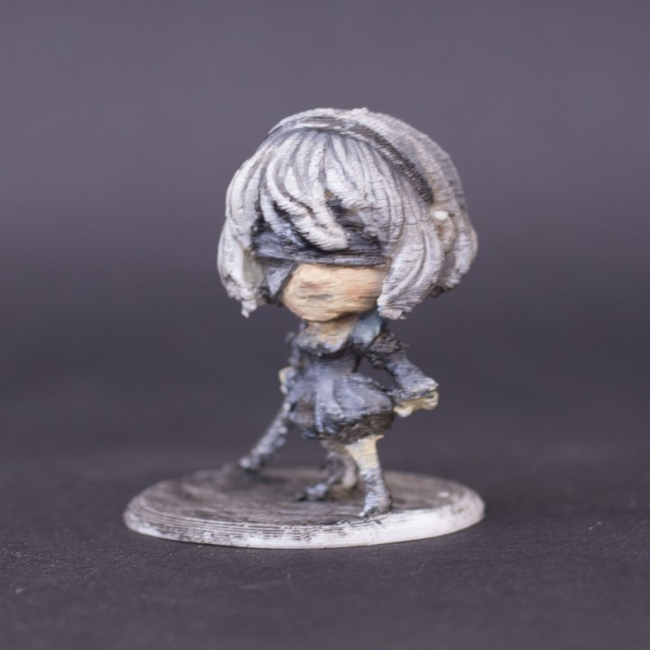 YorHa No 2 Type B Chibi figurine
