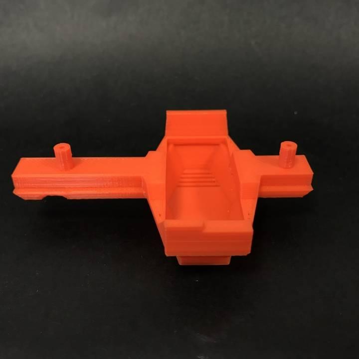 3d Printable Nerf Modulus Ecs 10 180 Motor Cover By Yes Im
