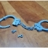 Handcuffs Complete Single Bed Print image