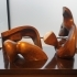 Three piece reclining figure draping image