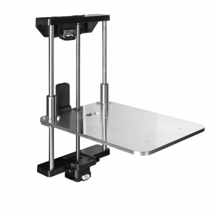 Aluminium Arms Z-Axis Upgrade - Makes Your Makerbot Replicator 2 And 2x A Real Tool
