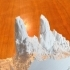 Yosemite Valley's Cathedral Spires 3dTopo image