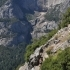 Yosemite's 4 Mile Trail Switchbacks 3D Topo image