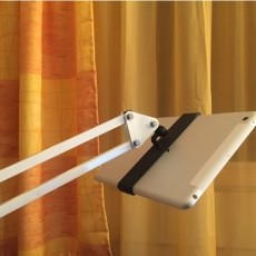 iPad Mini Holder for IKEA Tertial or a Microphone Holder