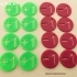 MTG Magic The Gathering Life Tokens / Counters / Markers / Buff Tokens / Trackers image