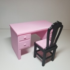 Picture of print of Barbie Chair