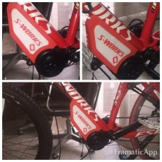 Copri Motore Carter per Bafang BBS01 BBS02 specialized epic s-works