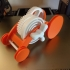 Spring Motor Rolling Chassis Version 2 print image