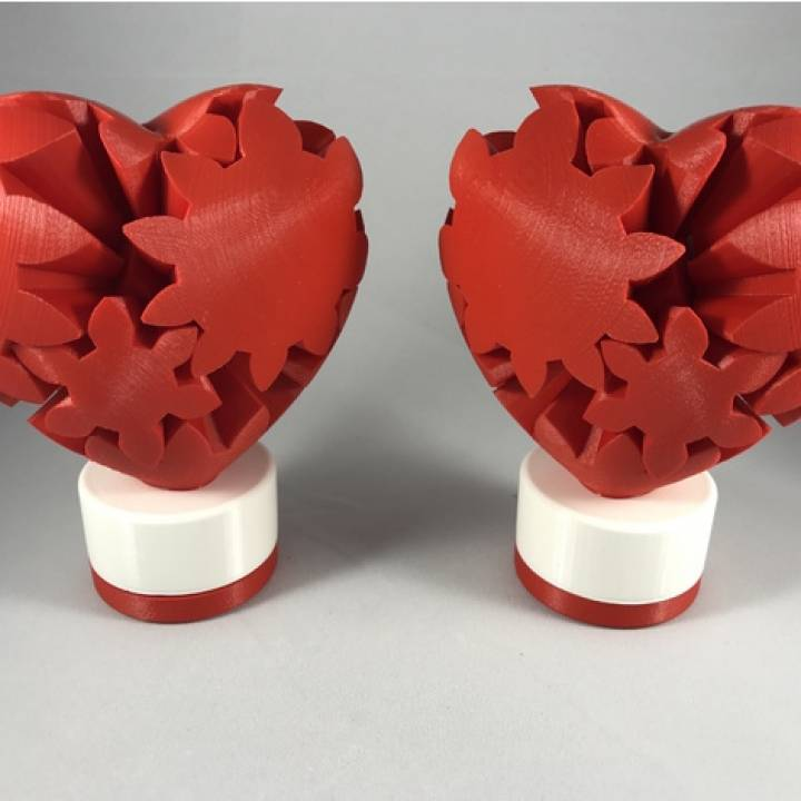 Geared Heart Version 2