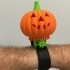 Lighted Motorized Halloween Pumpkin Bracelet image
