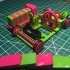 The Pink and Green Domino Machine image