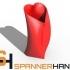 Simple Heart Vase image