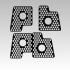 Printrbot Honeycomb Logo & Keyring image