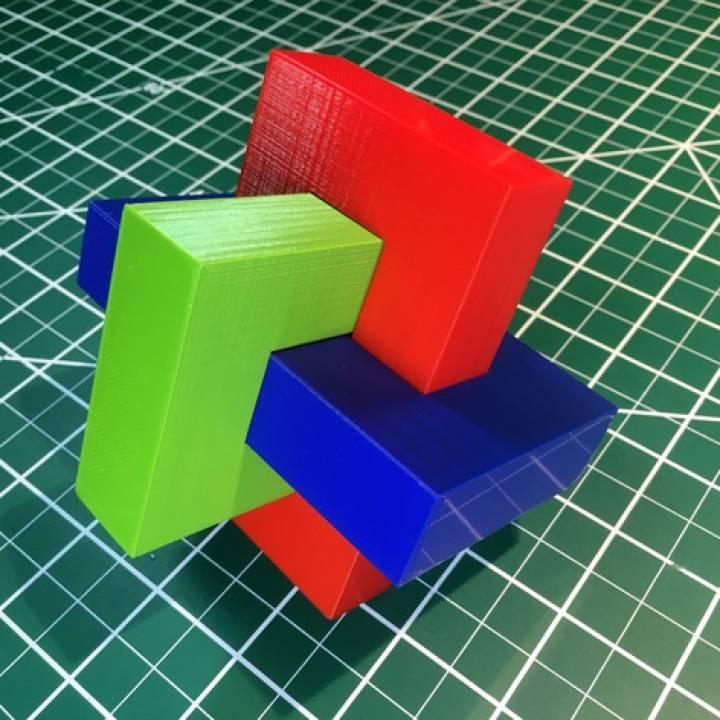 """""""Umulius Rectangulum"""", 3D Printed"""