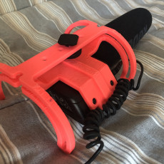 Picture of print of Rycote style cradle for classic rode videomic.