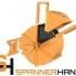 SPANNERHANDS Spool System Wall Mounted Spool Holder & Dust Cover image