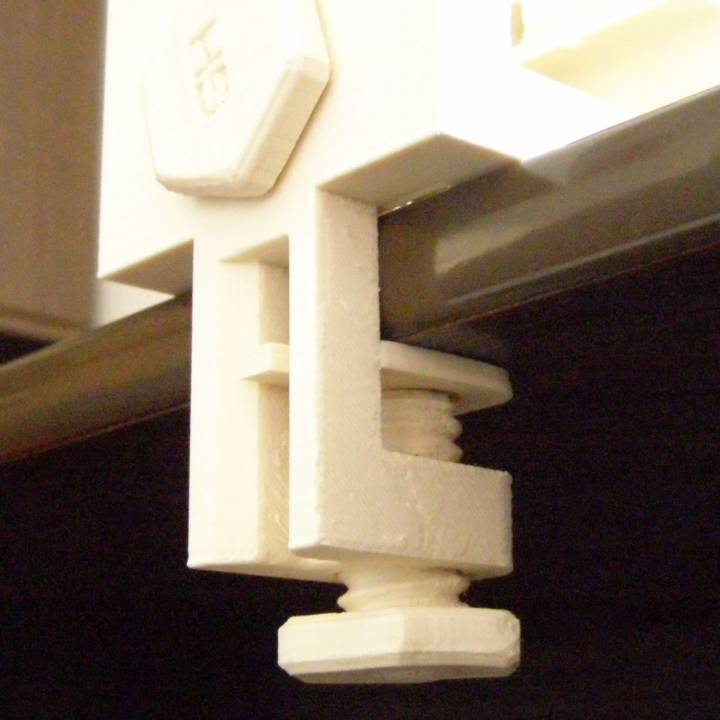 Desk / Table Mount Hobby Vice Fully 3D Printable