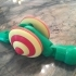 Pull Toy, Snail image