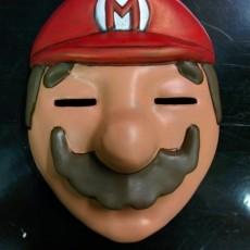 Happy Mask Mario