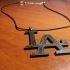 LA LOS ANGELES Necklace image