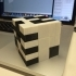 Snake Cube Puzzle, Printed Fully Assembled and Ready to Solve image