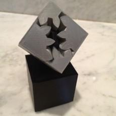 Geared Cube, Motorized Edition