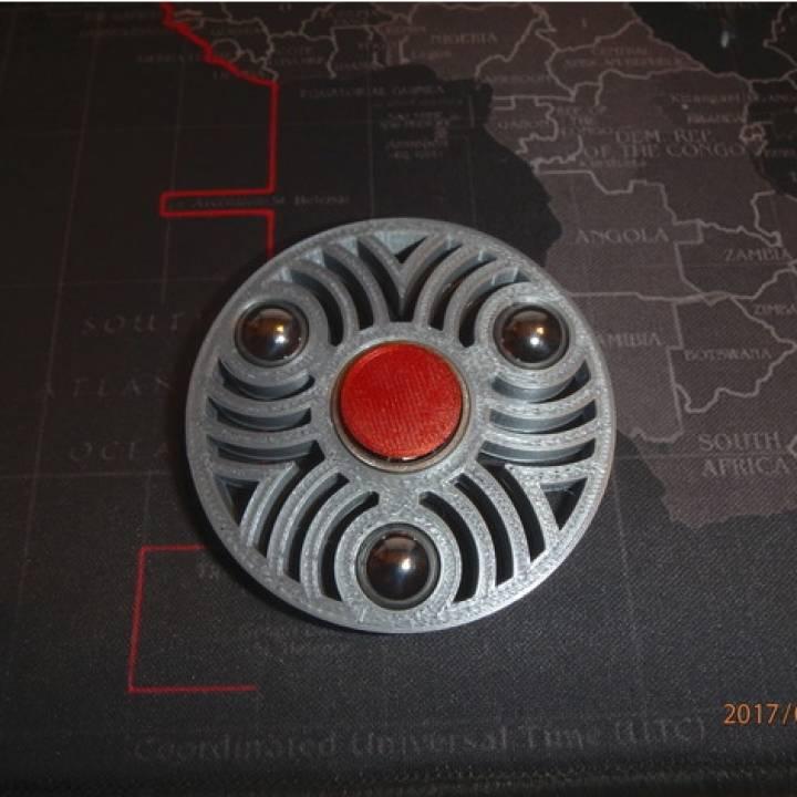 """1/2"""" Ball Bearing Fidget Spinner - Wingnut2k #7"""