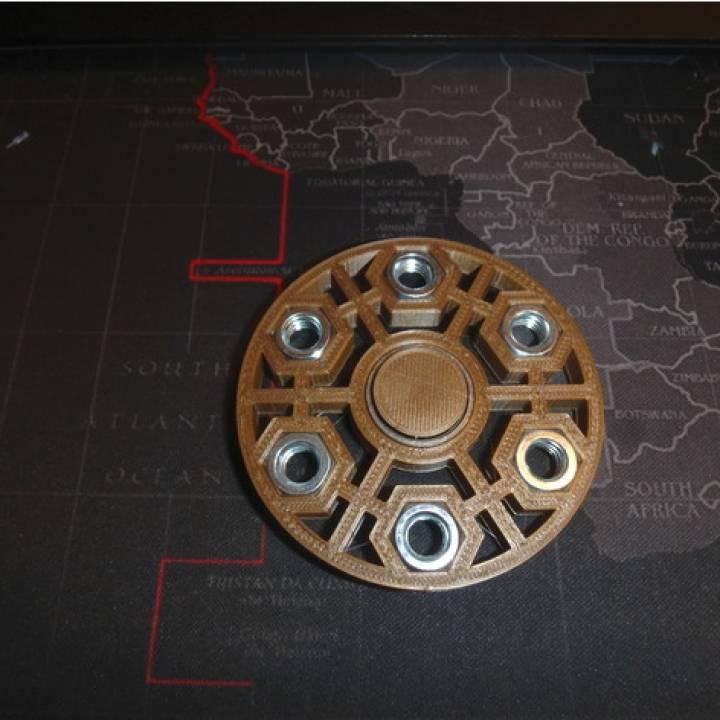 Fidget Nut Spinner - Wingnut2k #19