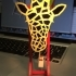 Pendulum Powered Giraffe In Motion image