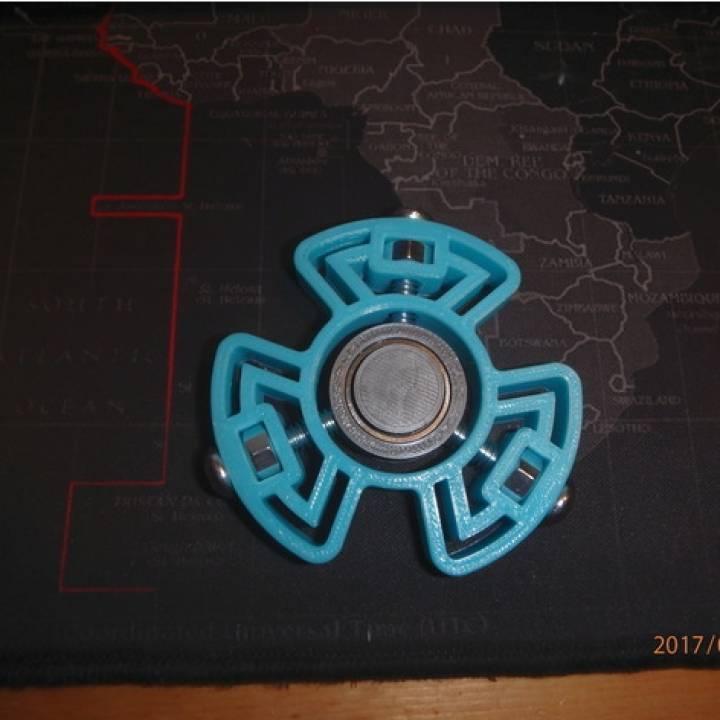 Bolt Halo Fidget Spinner - Wingnut2k #5