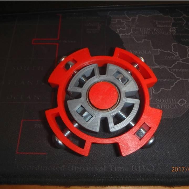 Bolt Halo Fidget Spinner - Wingnut2k #9
