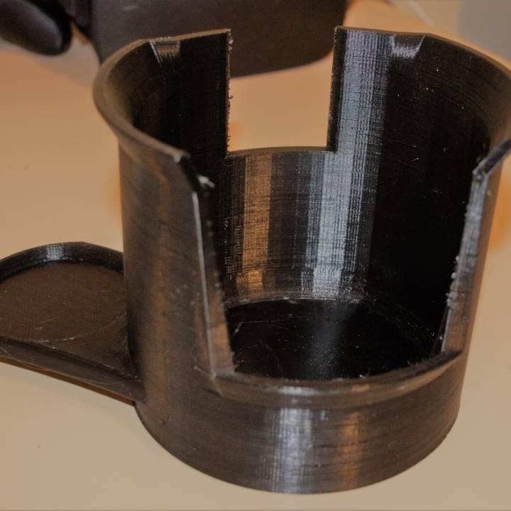 Coffee grind dust bowl