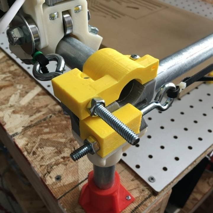 3D Printable MPCNC Belt Tension Add-on by Brandon