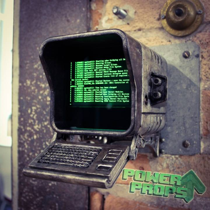 Fallout 4 - Wall Mounted Terminal Replica image