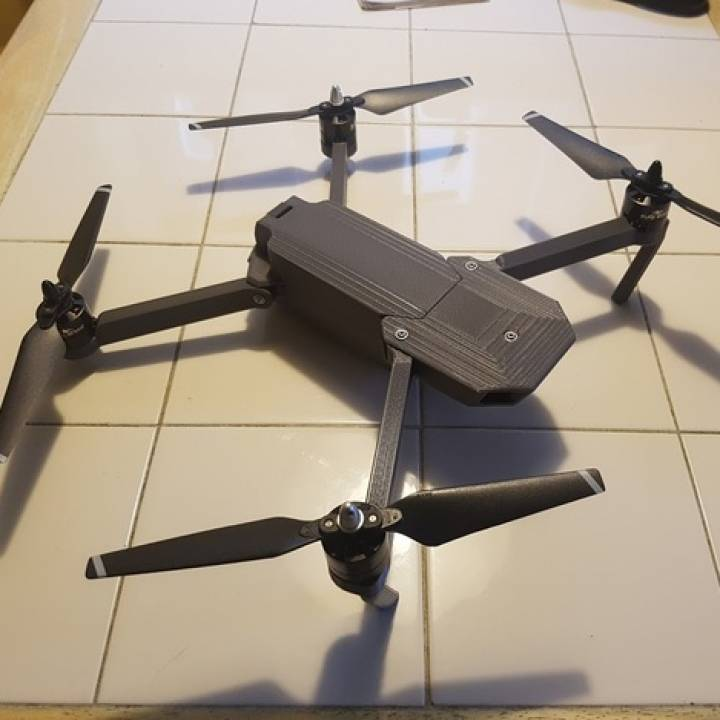 image relating to 3d Printable Drone known as 3D Printable DJI Mavic Skilled Clone as a result of Steve Wagg