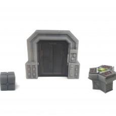 Star Wars Imperial Assault Custom Door Holder Tokens