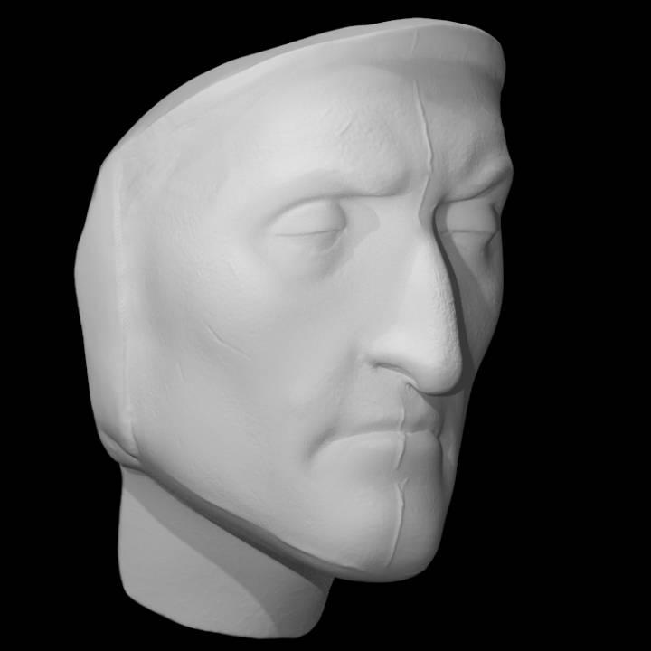 Death Mask of Dante Alighieri