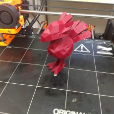 Picture of print of Low poly Chocobo This print has been uploaded by Adam Wood