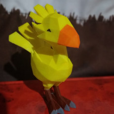 Picture of print of Low poly Chocobo