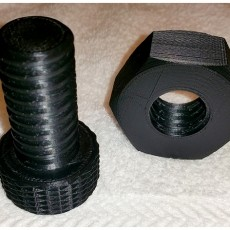 Large Nut and Bolt
