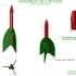 Helo model Rocket & Launch Pad (Estes Style) image
