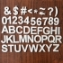 Letters, Numbers & Symbols OH MY! (100mm tall Arial Bold by 10mm Thick) image